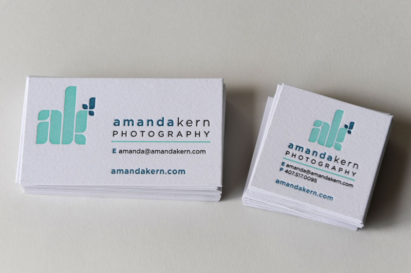 Square Business Card Size images